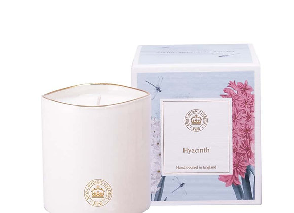 Kew Aromatics Hyacinth Ceramic Candle