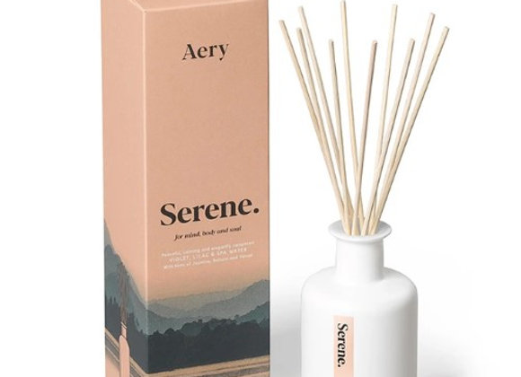 Aery Mindful Reed Diffuser - Serene - Violet, Lilac & Spa Water 200ml