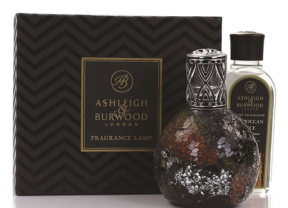 Ashleigh & Burwood Large Fragrance Lamp Set - Oriental Woodland & Moroccan Spice