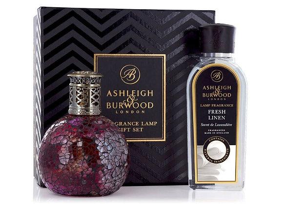 Ashleigh & Burwood Fragrance Lamp Set - Rose Bud & Fresh Linen