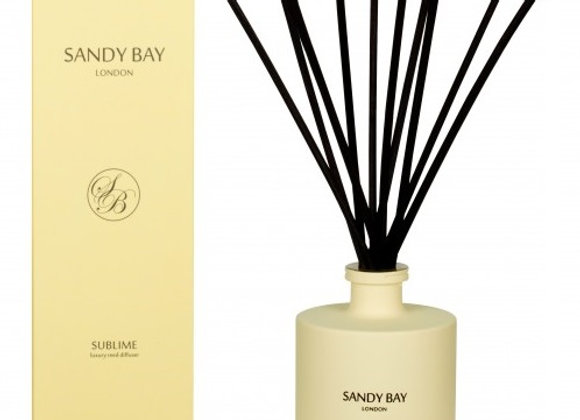 Sandy Bay London Retreat Collection - Sublime Luxury Reed Diffuser