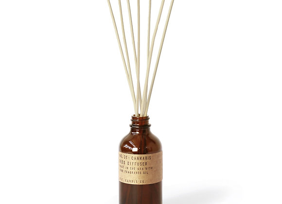 P.F. CANDLE CO. NO. 31 Cannabis Reed Diffuser