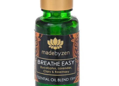 madebyzen BREATHE EASY Purity Essential Oil Blend 15ml