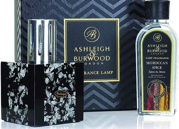 Ashleigh & Burwood Fragrance Lamp Set - Midnight Silver & Moroccan