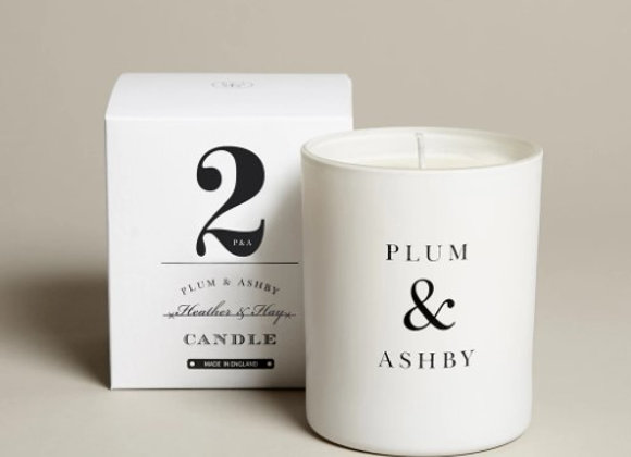 Plum & Ashby Heather & Hay Candle 60hrs