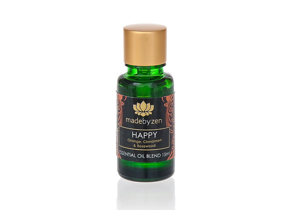 madebyzen HAPPY Purity Essential Oil Blend 15ml
