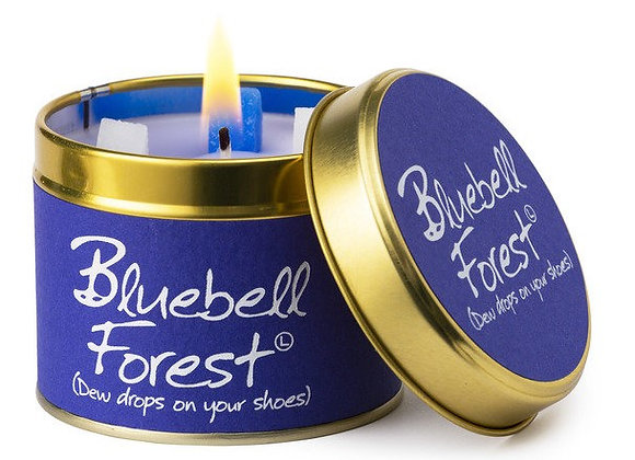 """Lily Flame """"Bluebell Forest"""" Scented Tin Candle"""