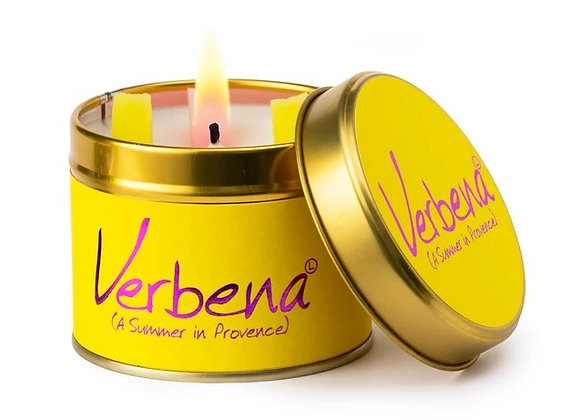 "Lily Flame ""Verbena"" Scented Tin Candle"