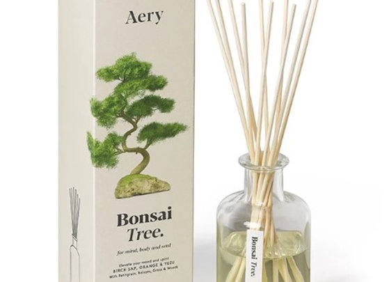 Aery Botanical Reed Diffuser - Bonsai Tree - Birch Sap Orange Yuzu 200ml