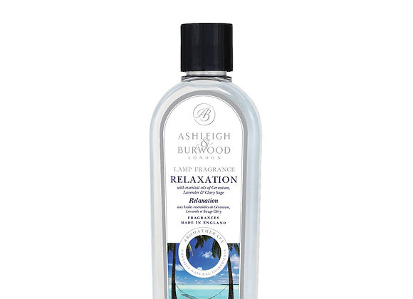 Ashleigh & Burwood Fragrance Lamp Essential Oil - Relaxation 500ml