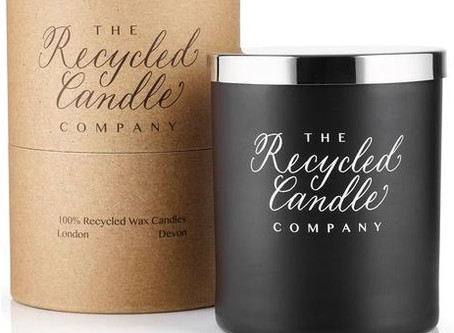 The Recycled Candle Company beautiful candles coming soon....