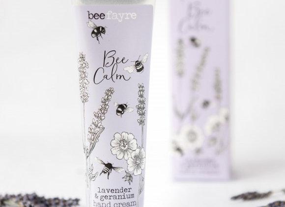 Beefayre Hand Cream - Bee Calm Lavender & Geranium Hand Cream 100ml