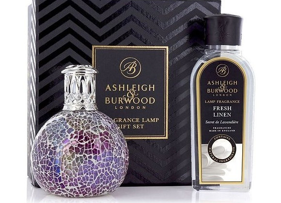 Ashleigh & Burwood Fragrance Lamp Set -  Pearlecense & Fresh Linen
