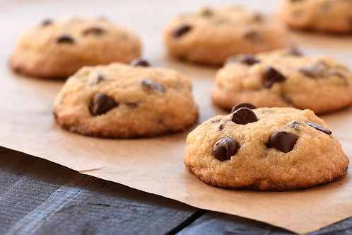 BAKED Gluten Free Chocolate Chip Cookies (20)