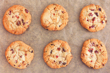 BAKED Gluten Free White Choc & Cranberry Cookies (20)