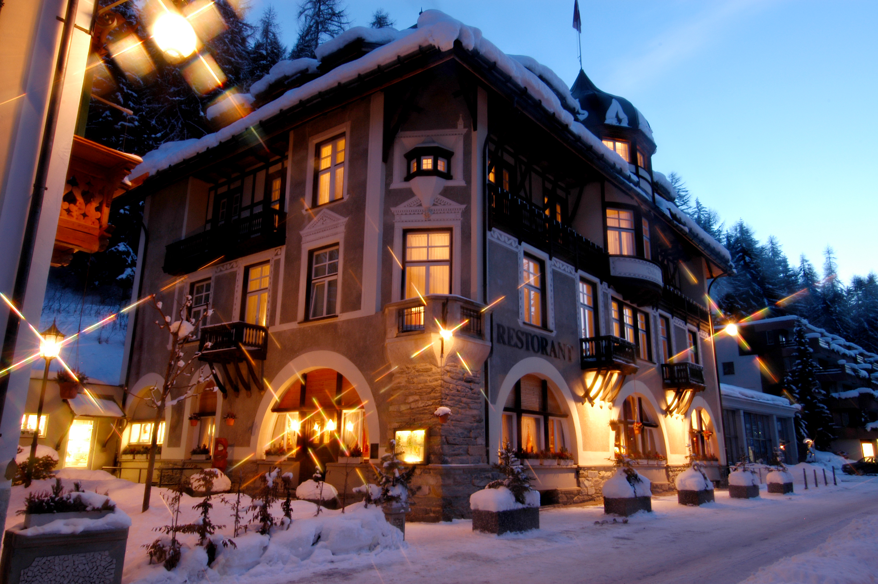 Hotel Villa Post Vulpera Scuol Engadin