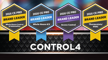 CONTROL4 NAMED TOP HOME AUTOMATION PROVIDER FOR 2016