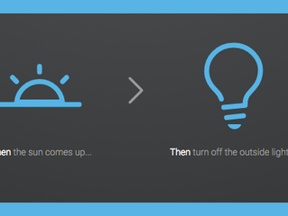 Customise Your Control4 Smart Home With When > Then