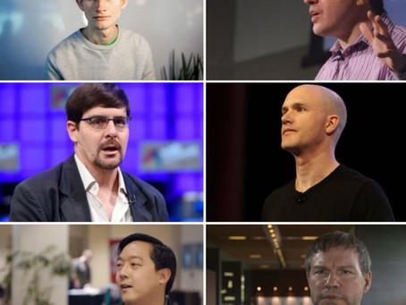 تعرف على أشهر 10 شخصيات في مجال العملات الرقمية والبلوكشين