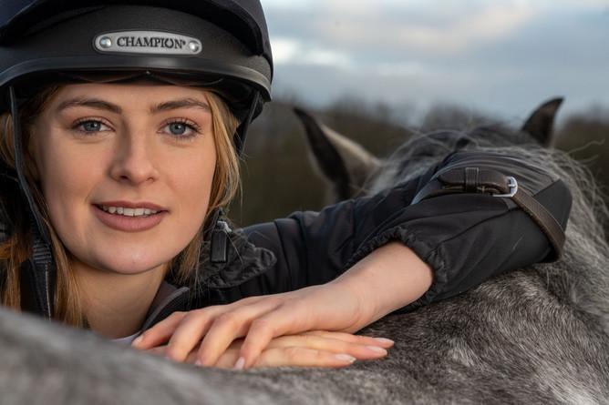 Horse rider Megan Elphick