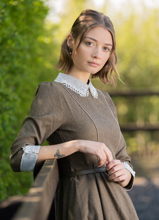 Model and fashion shoot