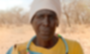 conceptualised by  Kayli Vee Levitan, award-winning creative copywriter for the united nations FAO campaign to save the drylands, we see a woman in limpopo staring into camera
