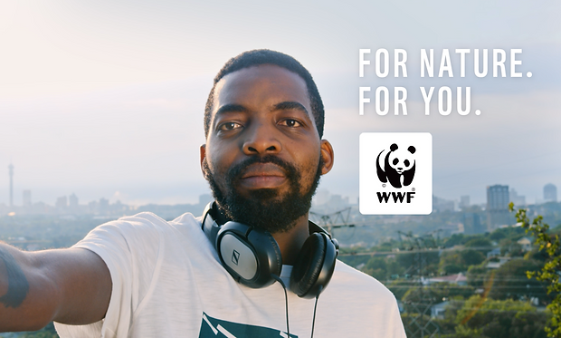 Kayli Vee Levitan, award-winning creative copywriter, worked with WWF on for nature for you wwf campaign johannesburg south africa