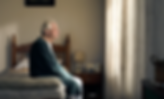 Kayli Vee Levitan, award-winning creative copywriter shows a sad, lonely grandpa sits on bed just before his granddaughter reminds him to get active on his bike virgin active. Kayli Vee Levitan, award-winning creative copywriter