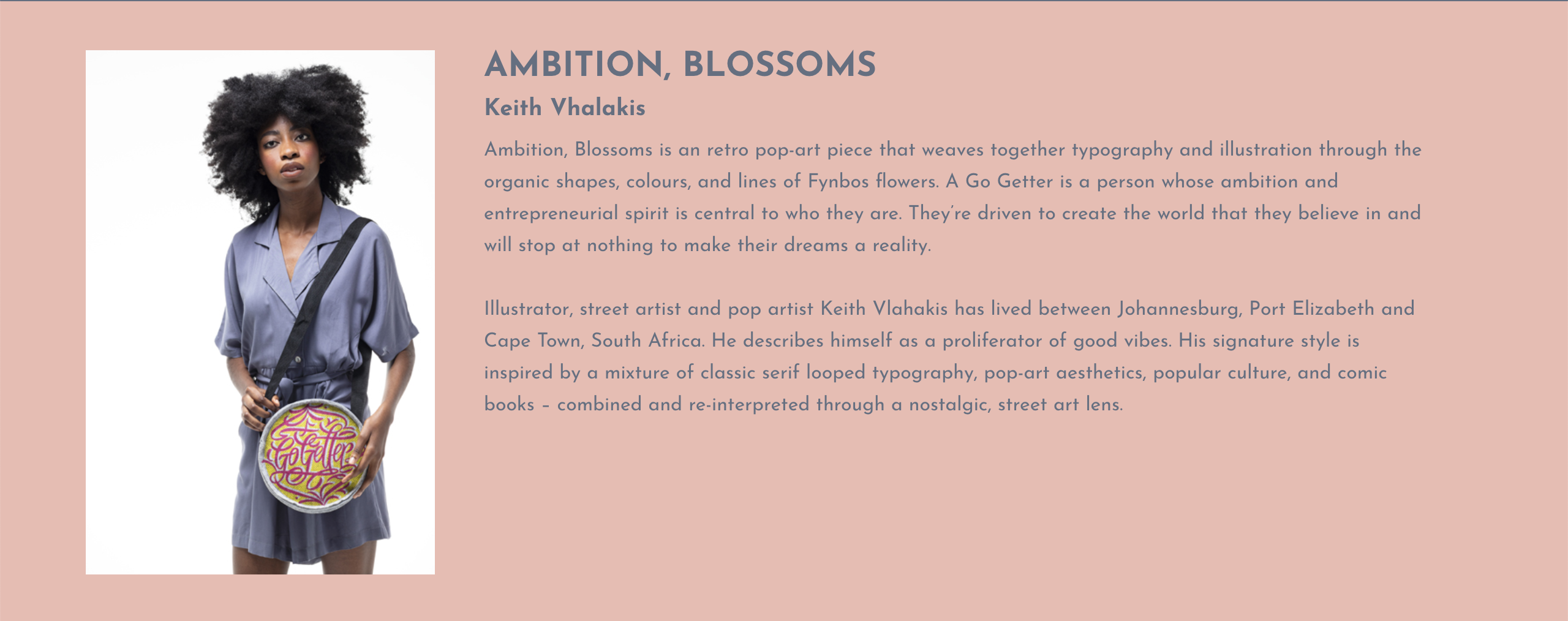 Ambition, blossoms.