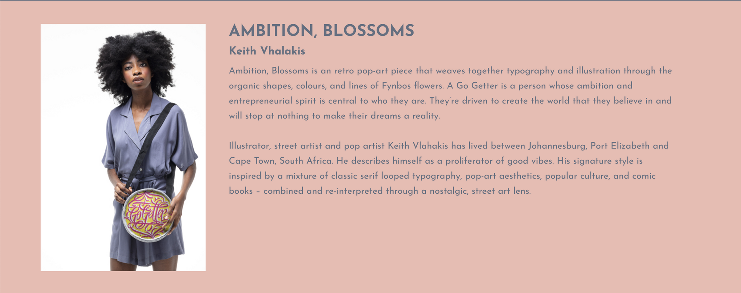 Ambition, blossoms.