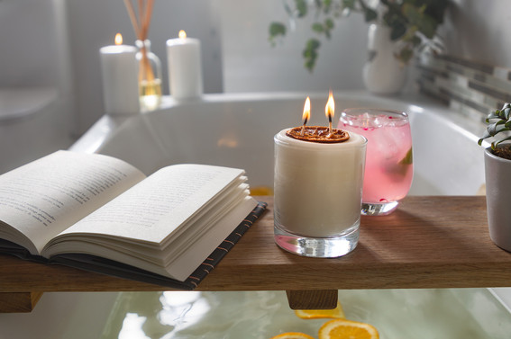 MOOD Gin Merch Botanicals Infused Candle