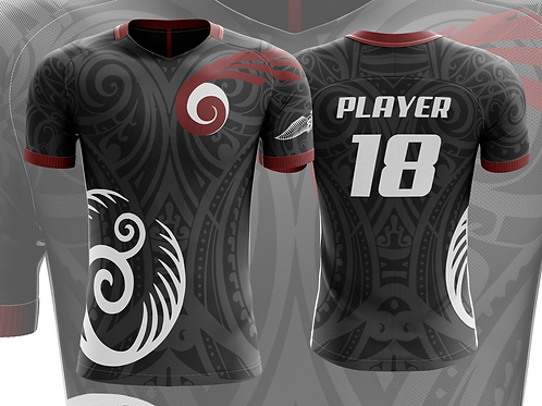 Black Brooms Quidditch Jersey