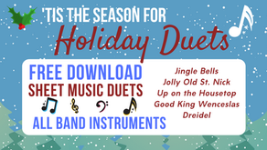 Easy Holiday Duets! FREE SHEET MUSIC