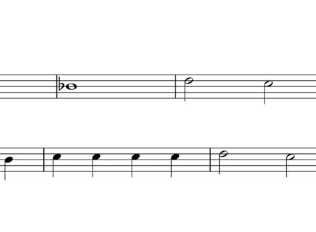 Hot Cross Buns | Flute | Key of B-flat