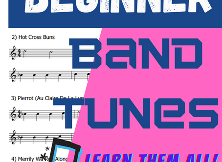 Beginner Band Tunes | Free Sheet Music