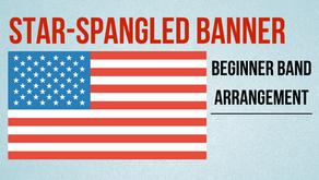 Free Easy Band Arrangement of Star Spangled Banner