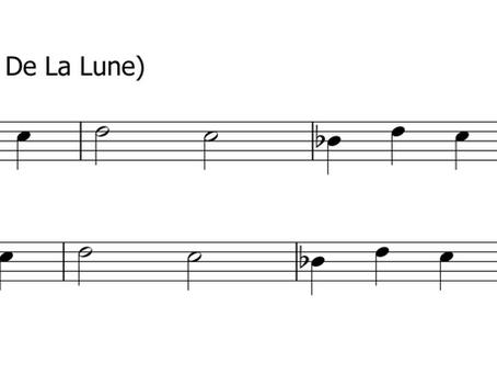 Pierrot (Au Claire De La Lune) | FLUTE | Key of B-flat