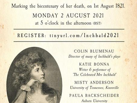 Celebrating Elizabeth Inchbald