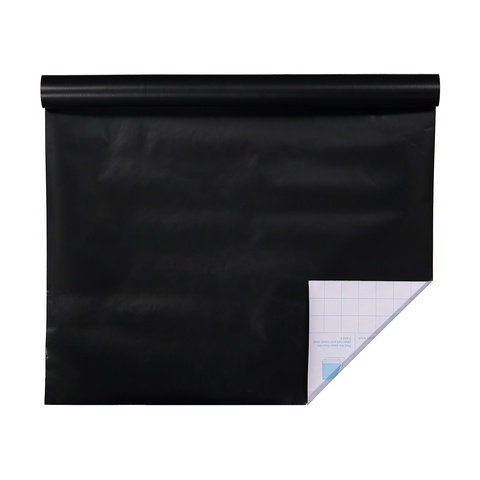 1m Self Adhesive Book Cover - Black