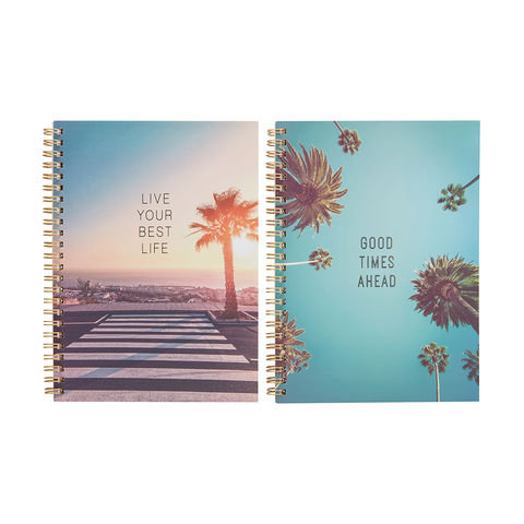2 Pack A5 Spiral Notebooks