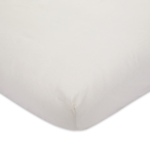225 Thread Count Fitted Sheet - Queen Bed, Oatmeal