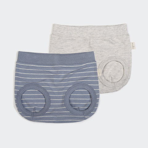 2 Pack Organic Nappy Cover