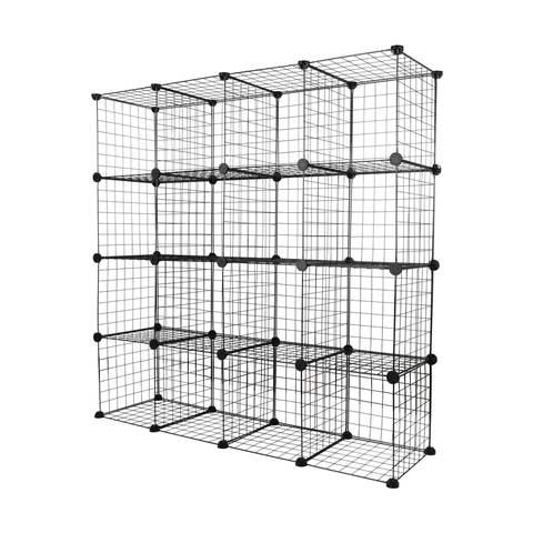16 Metal Cube Unit