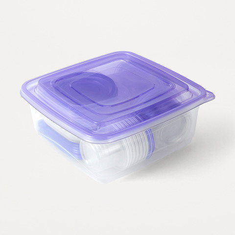 21 Storage Containers - Purple