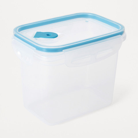 1L Rectangle Tall Clip Food Container
