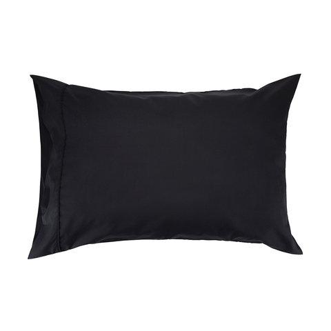 225 Thread Count Standard Pillowcase - Black