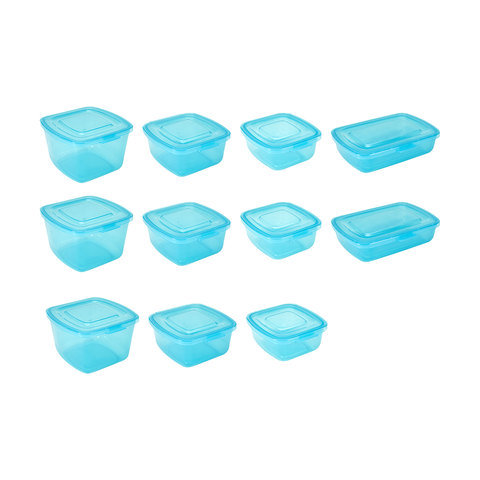 11 Piece Food Storage Containers with Attached Lids