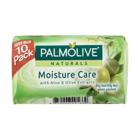 10 Pack Palmolive Naturals Moisture Care Soap Bars