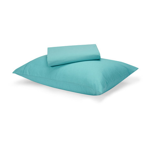 180 Thread Count Sheet Set - Single Bed, Aqua