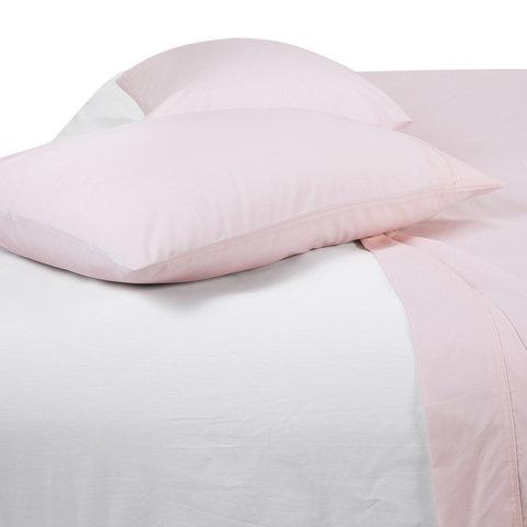 225 Thread Count Sheet Set - Queen Bed, Pink